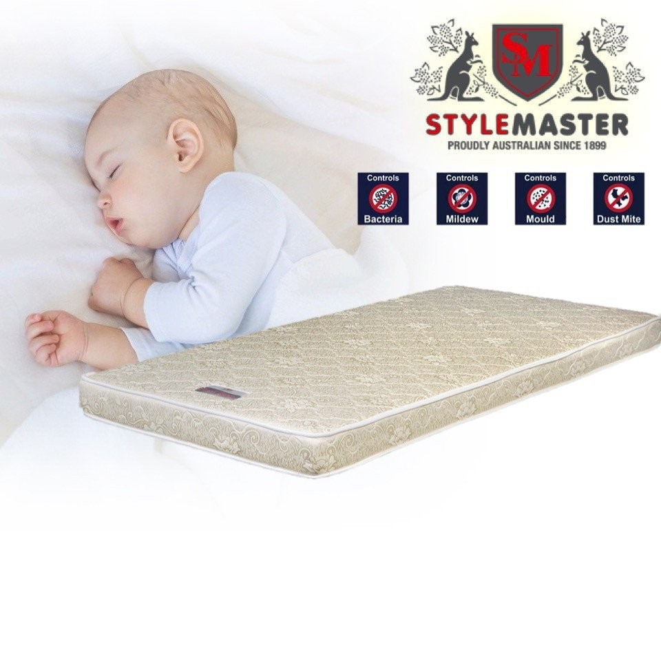 "Stylemaster Orthosleep 4"" Mattress 120x60cm - Offi"