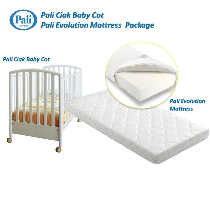 Pali Ciak 4-in-1 Convertible Baby Cot (Natural Col