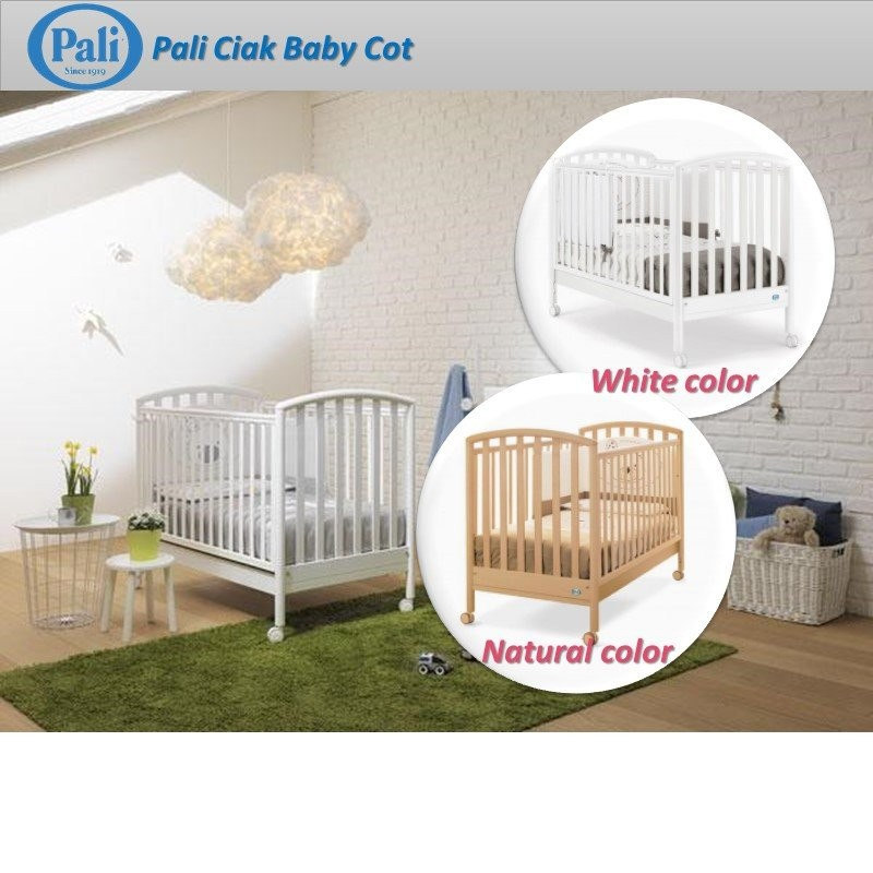 Pali Ciak 120 x 60cm Baby Cot (100% Made in Italy)