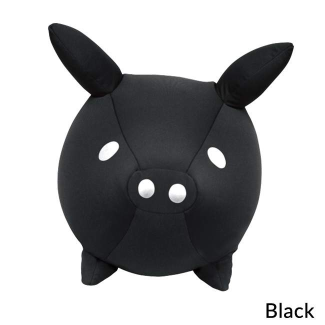 MOGU Piglet Cushion - Black