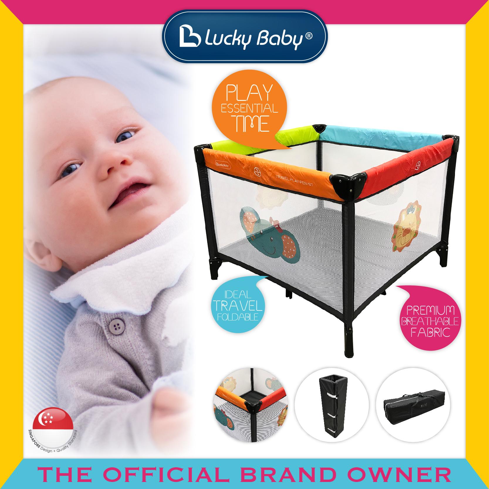 Lucky Baby® S7™ Travel Playpen