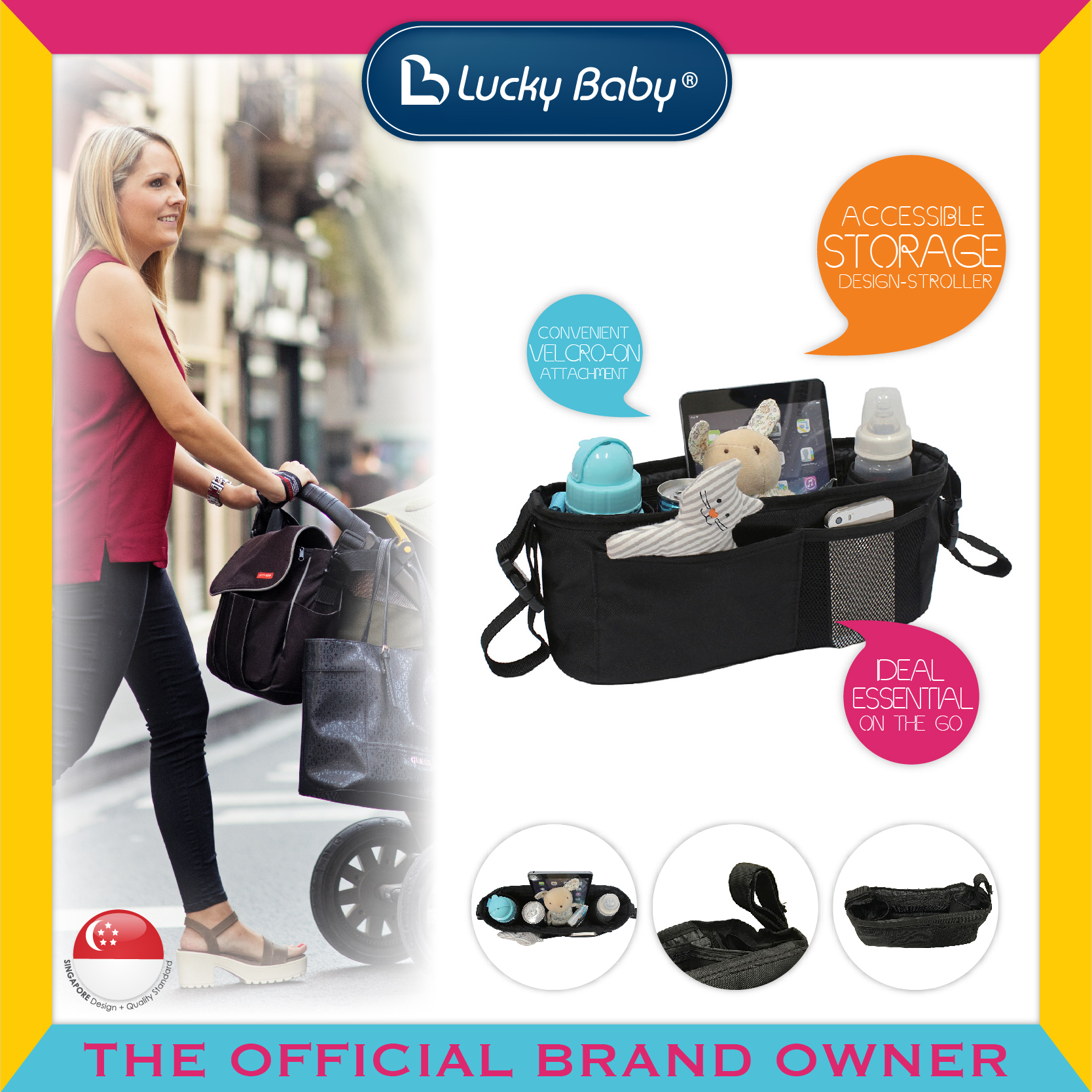 Lucky Baby™ Bag It™ Stoller Organizer Holdall