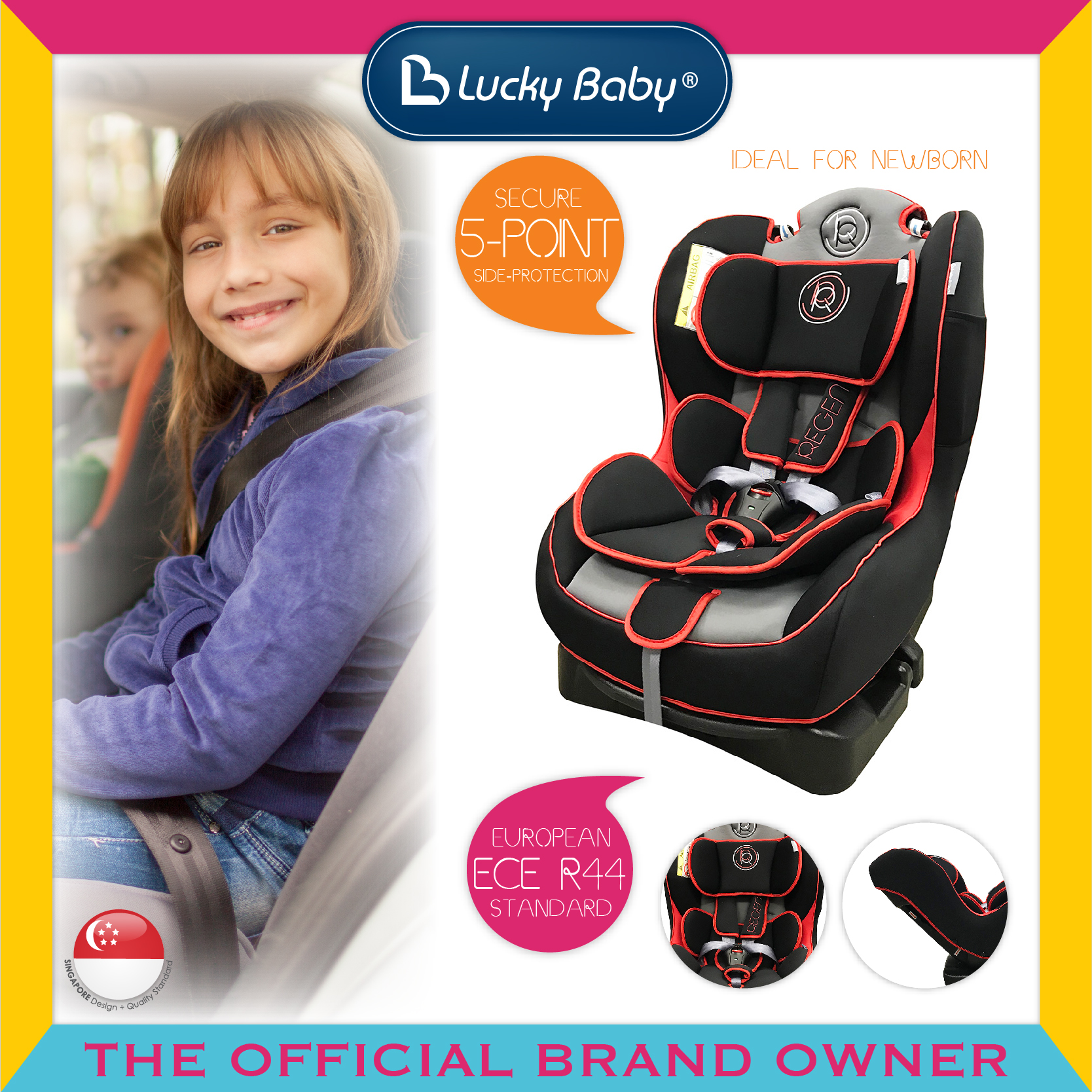 Lucky Baby® Regent™ Safety Car seat