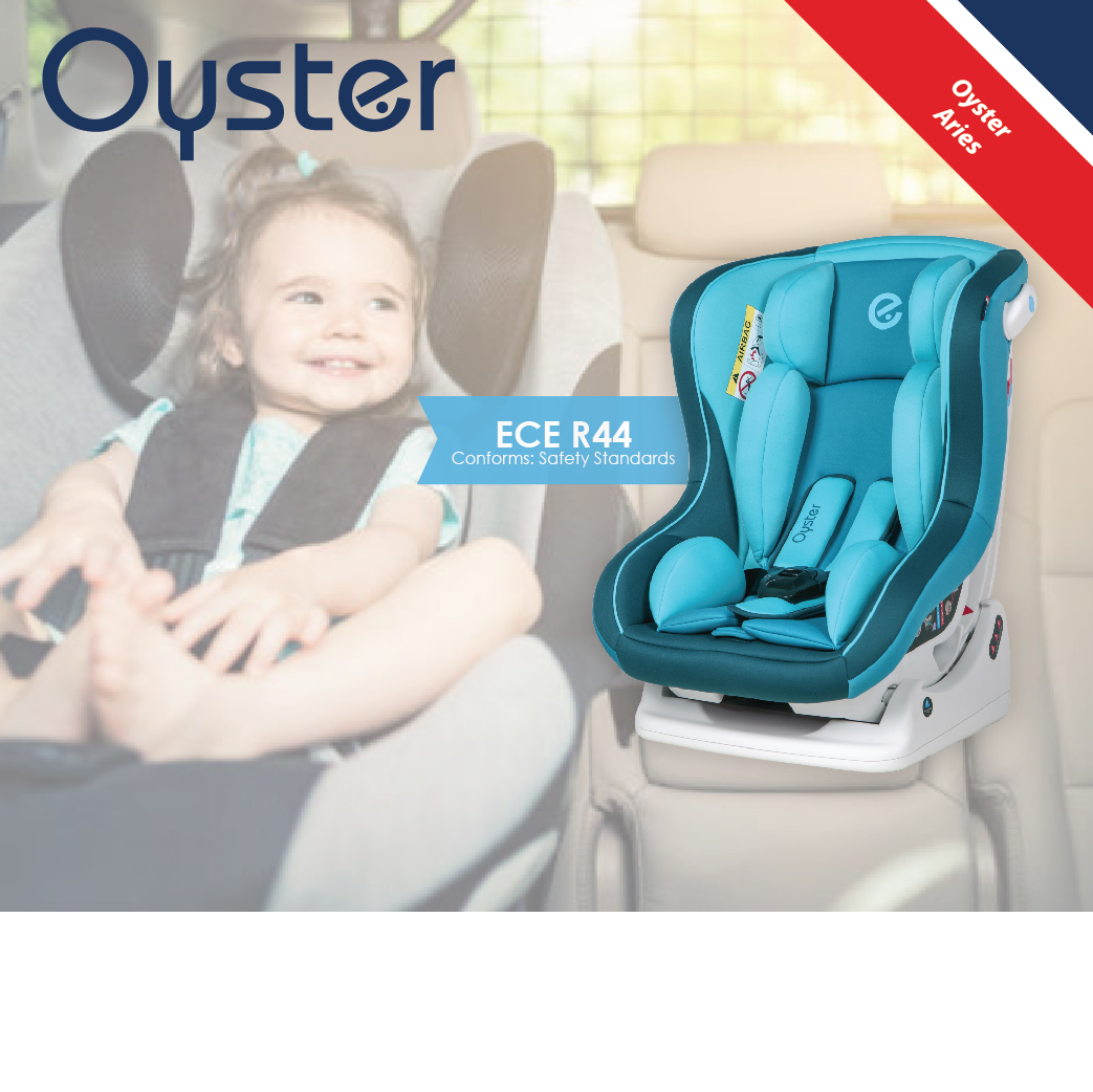 Oyster Car Seat Aries - Blue