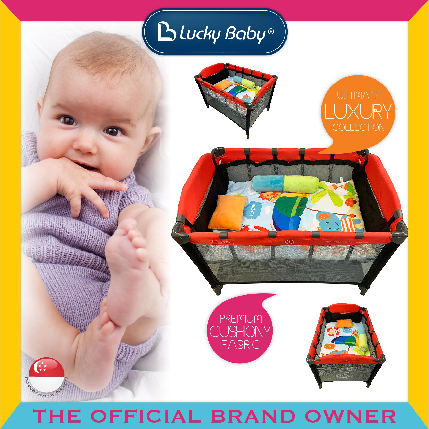 Lucky Baby® Dreem™ Playpen Bedding Set