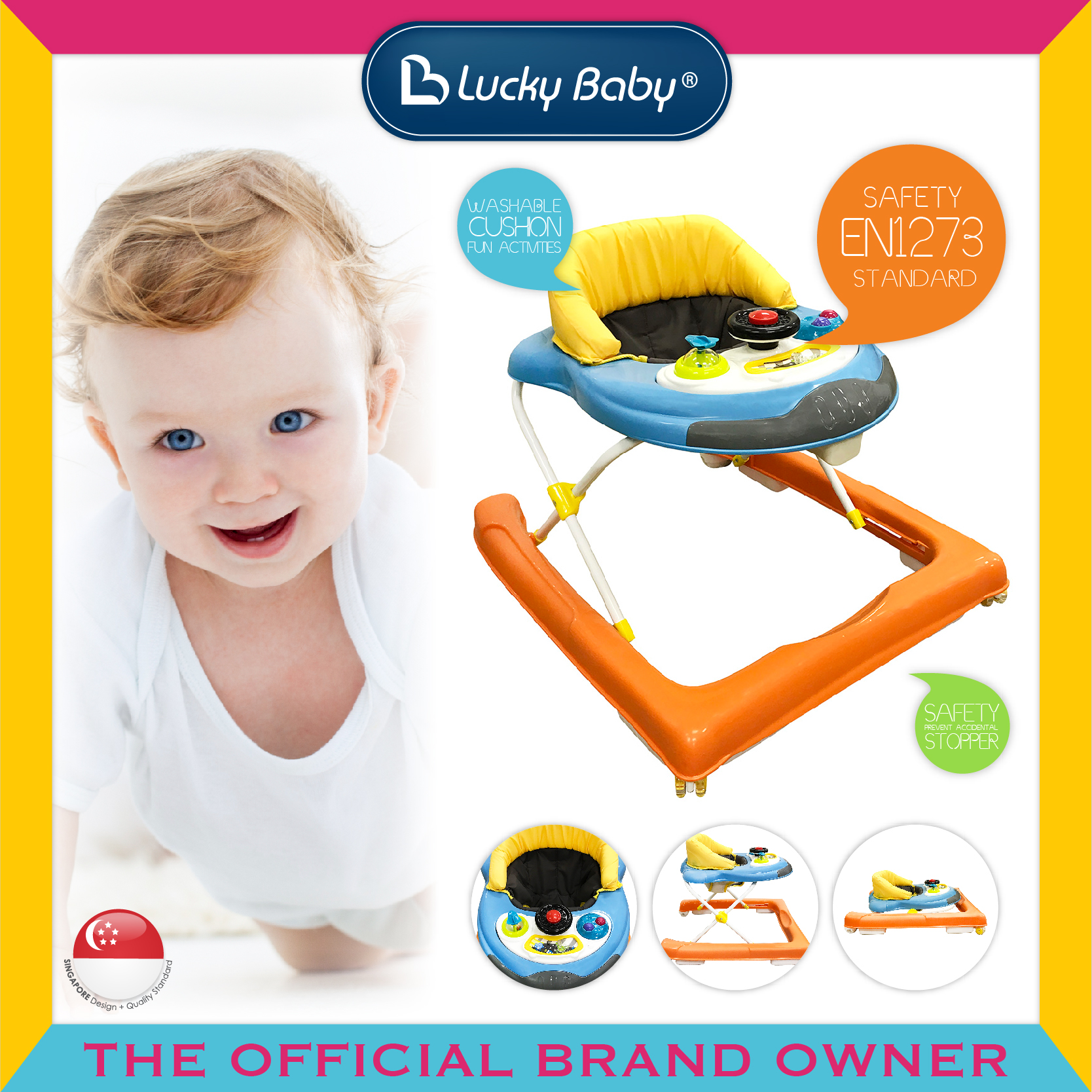 Lucky Baby® Jokee™ Baby Walker