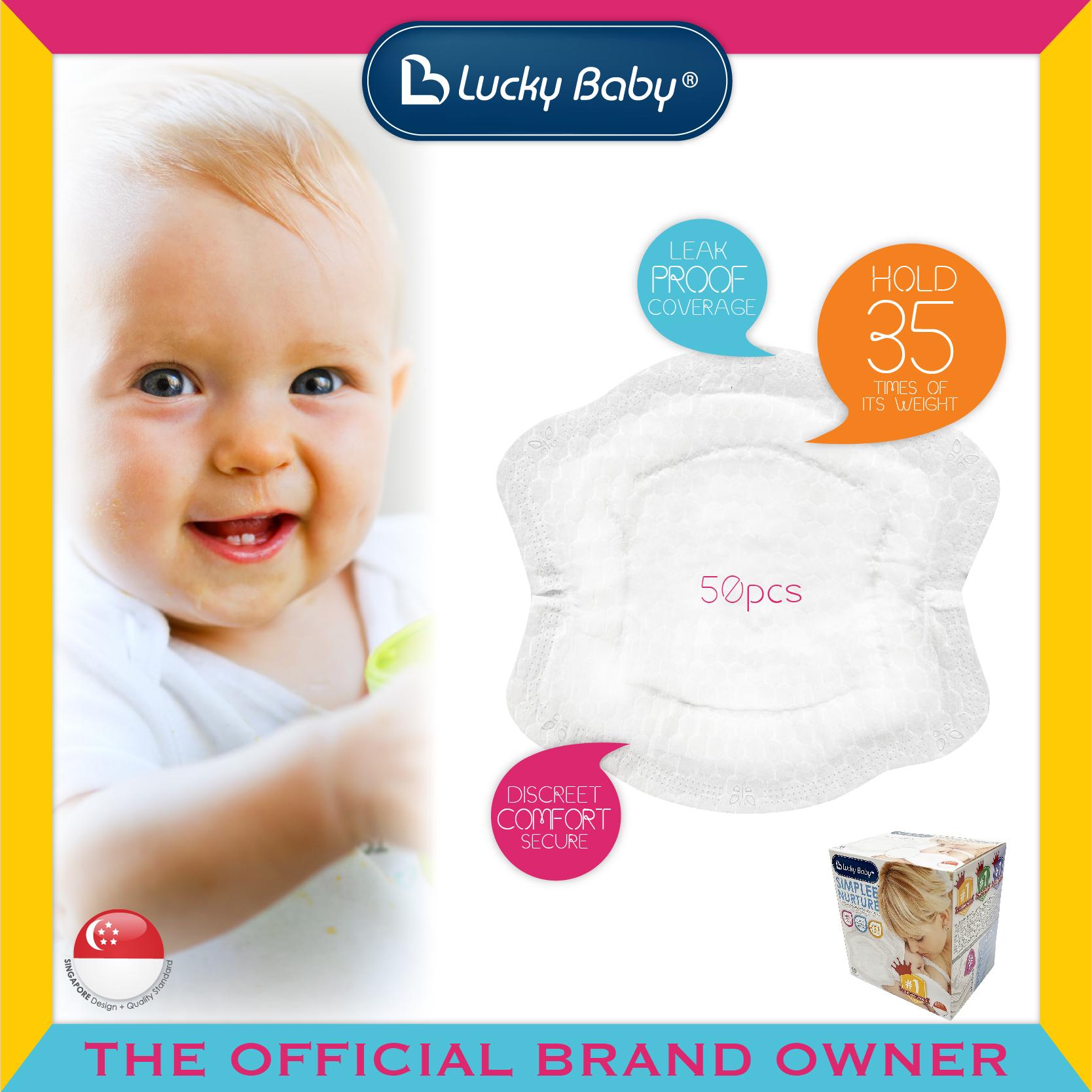 Lucky Baby® Simplee Nurture™ Contoured Disposab