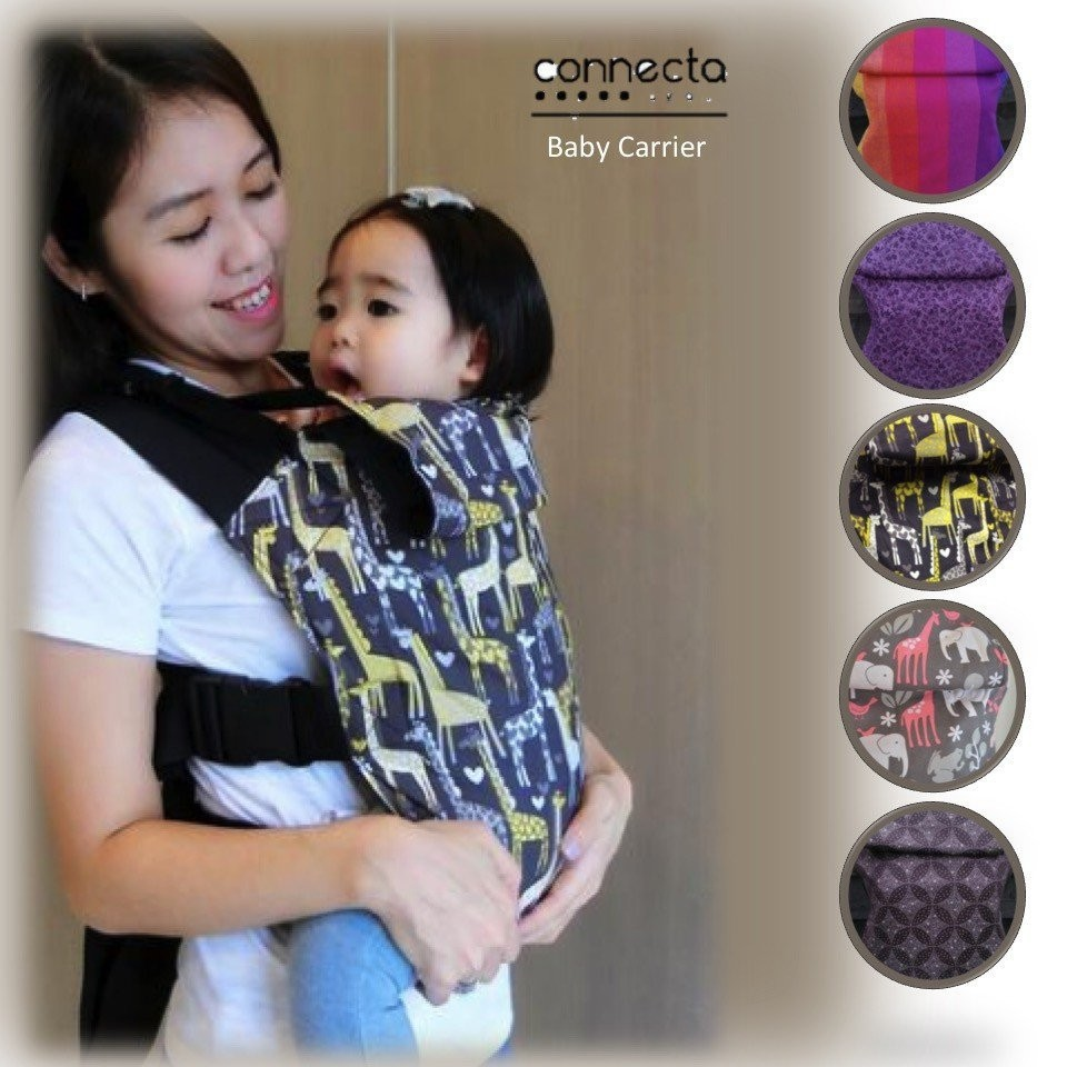 Connecta Baby Carrier [4 designs available]