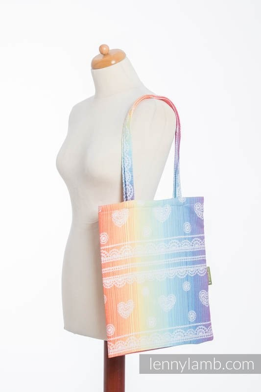 LennyLamb Shopping Bag - Rainbow Lace