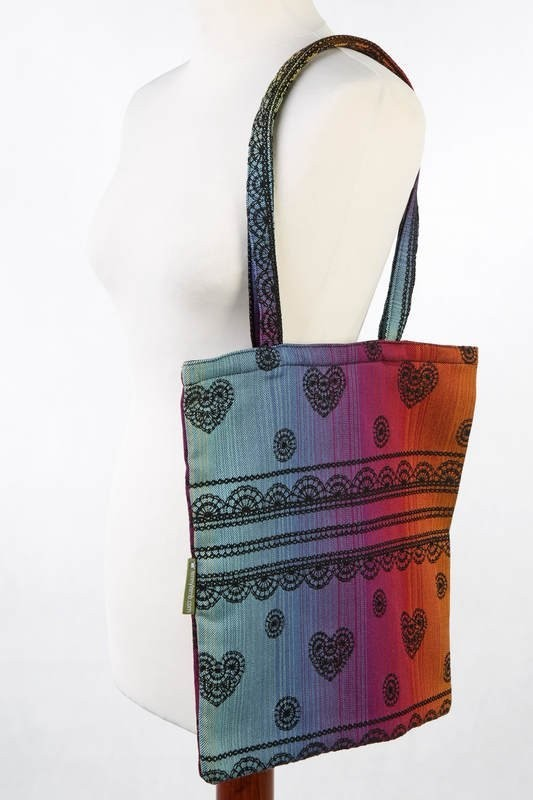 LennyLamb Shopping Bag - Rainbow Lace Dark