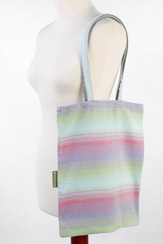 LennyLamb Shopping Bag - Little Herringbone Impres
