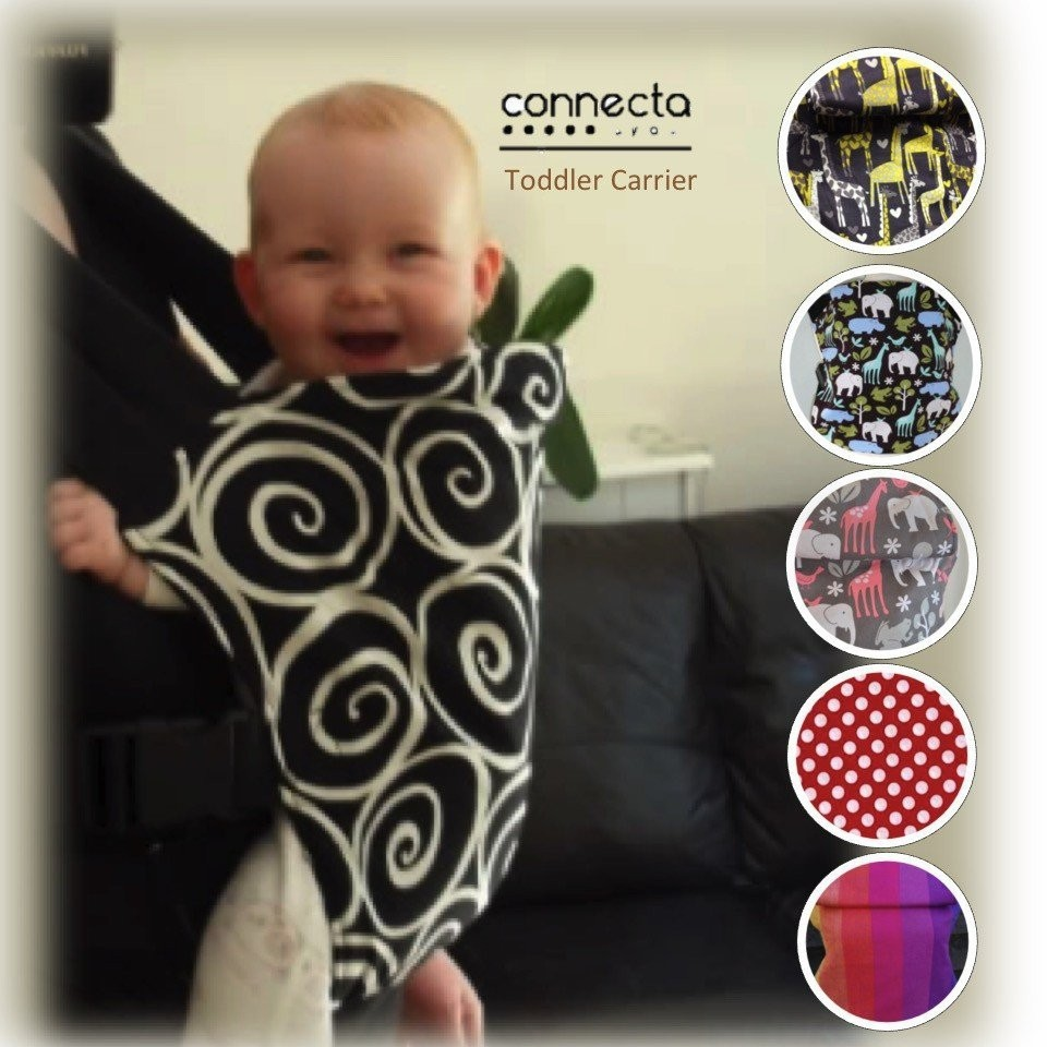 Connecta Toddler Carrier  [4 designs available]