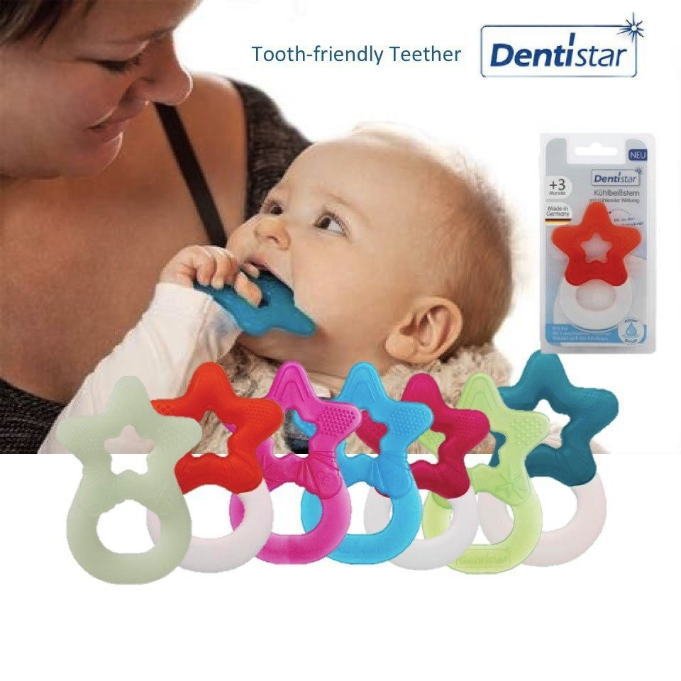 Dentistar Tooth-friendly Glow-in-the-Dark Teether