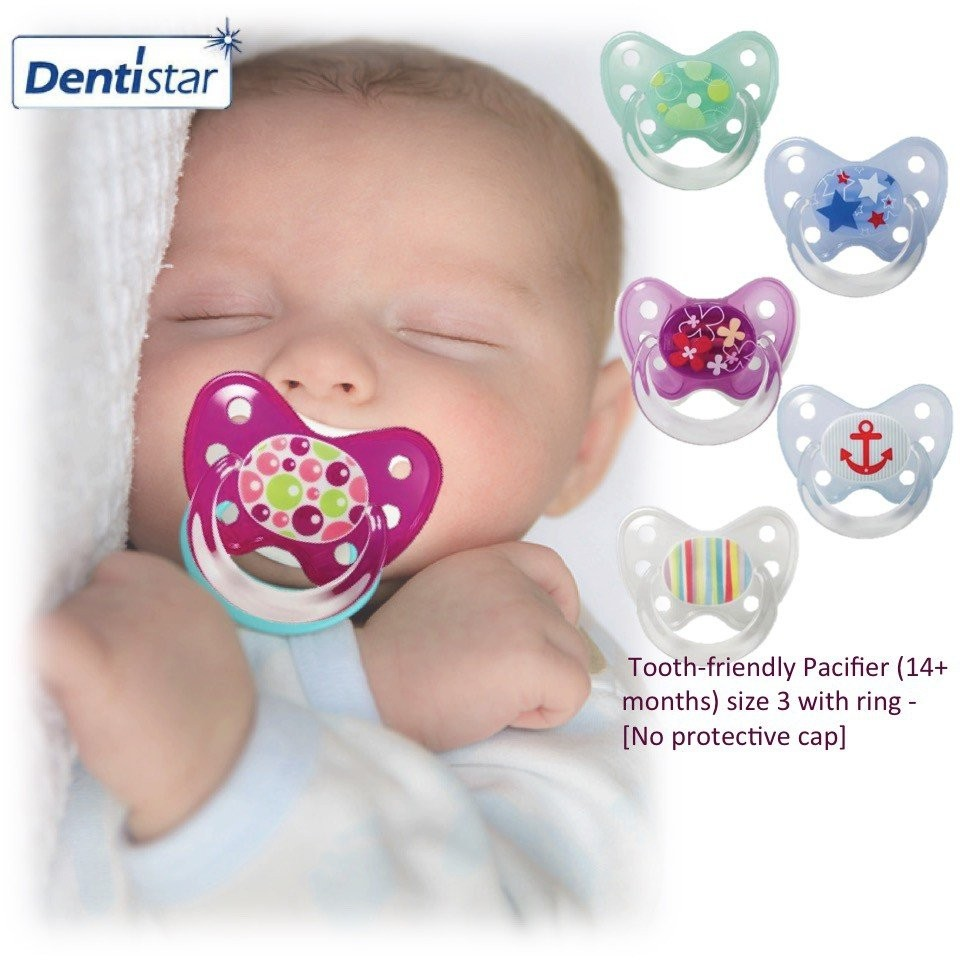 Dentistar Tooth-friendly Pacifier (14+ months) Siz
