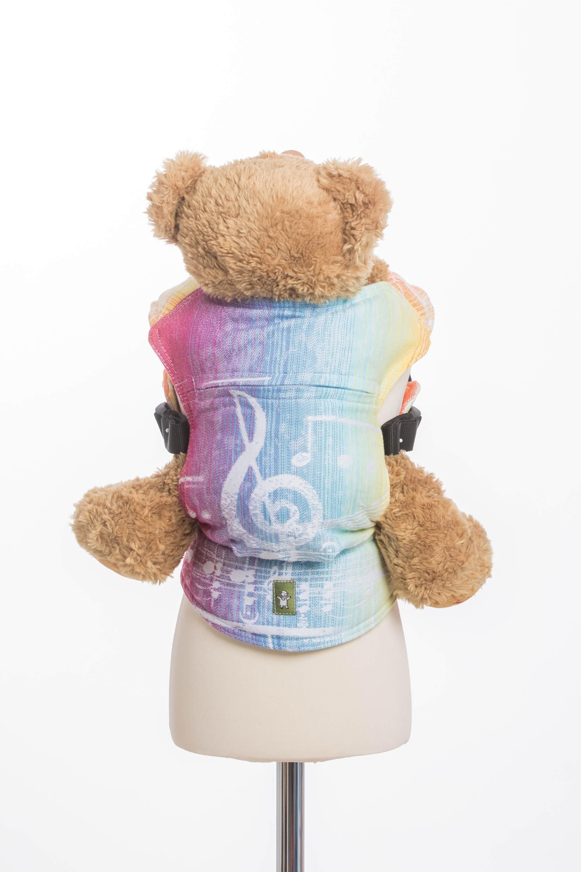 LennyLamb Doll Carrier - Symphony Rainbow Light (1