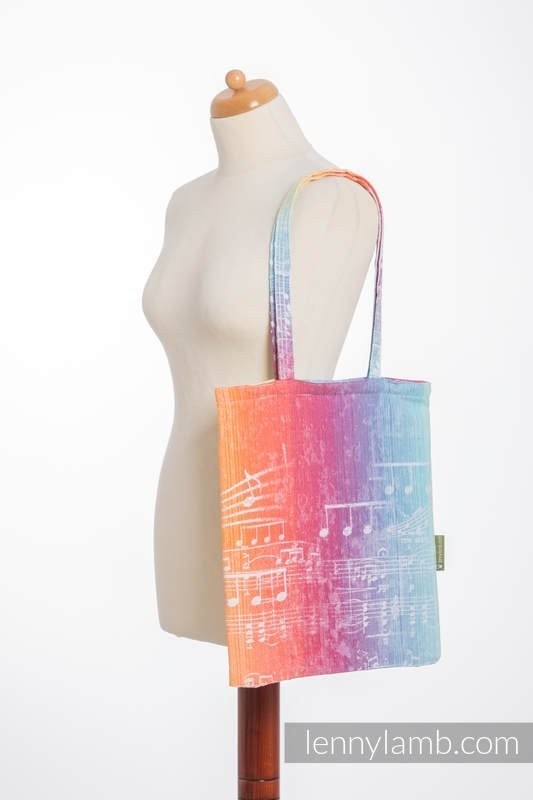LennyLamb Shopping Bag - Symphony Rainbow Light