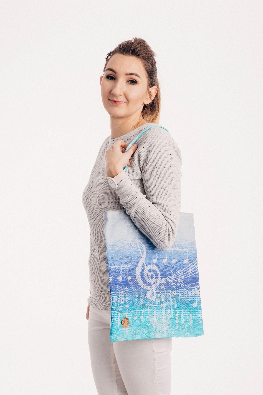 LennyLamb Shopping Bag - Symphony Aurora