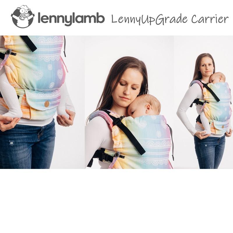 LennyLamb LennyUpGrade Carrier - Rainbow Lace (Jac
