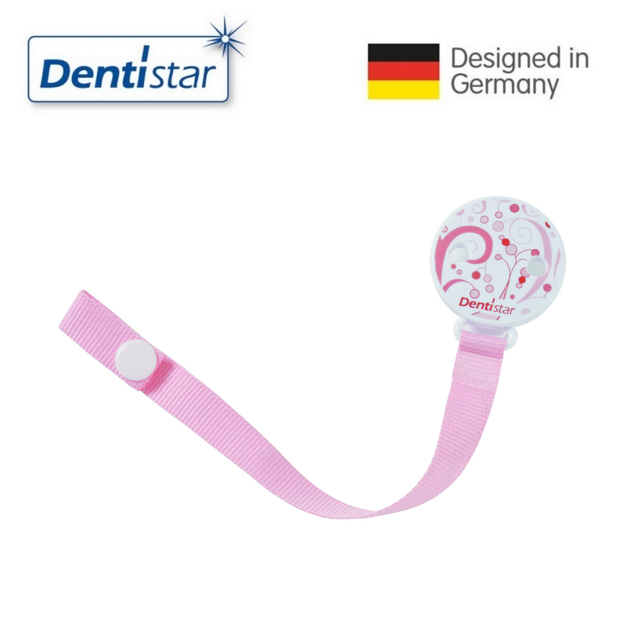 Dentistar Pacifier Holder [Multiple colours]