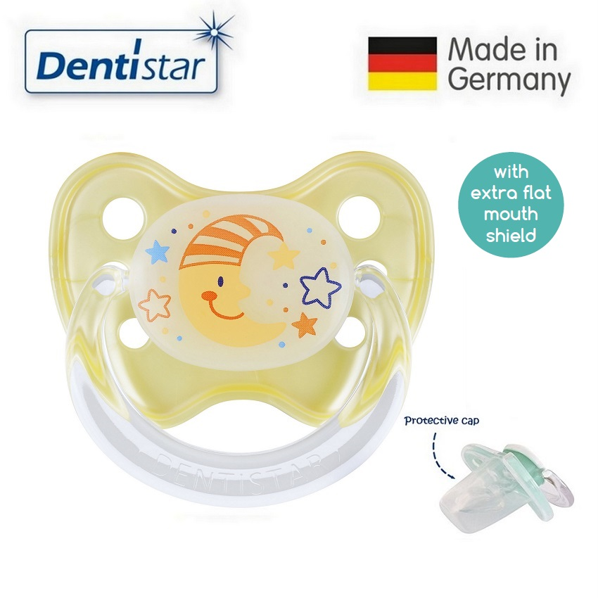 Dentistar Tooth-friendly Flat Night Pacifier (14+
