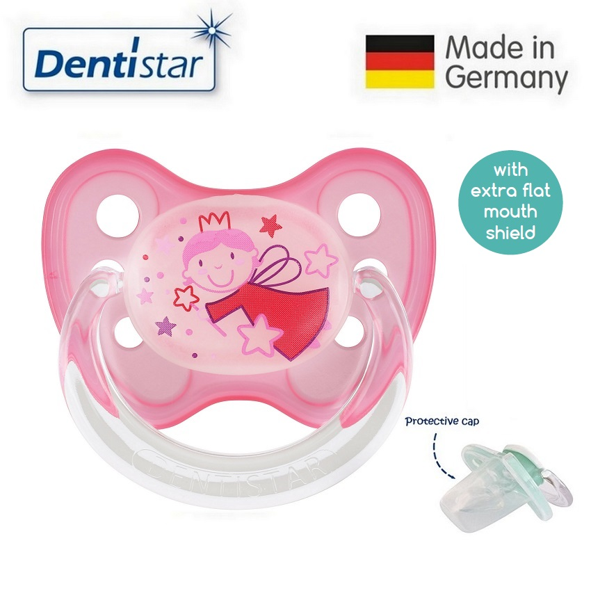 Dentistar Tooth-friendly Flat Night Pacifier (6-14