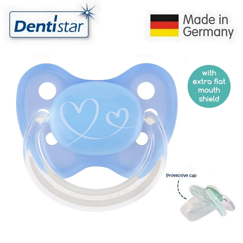 Dentistar Tooth-friendly Flat Pacifier (0-6 months