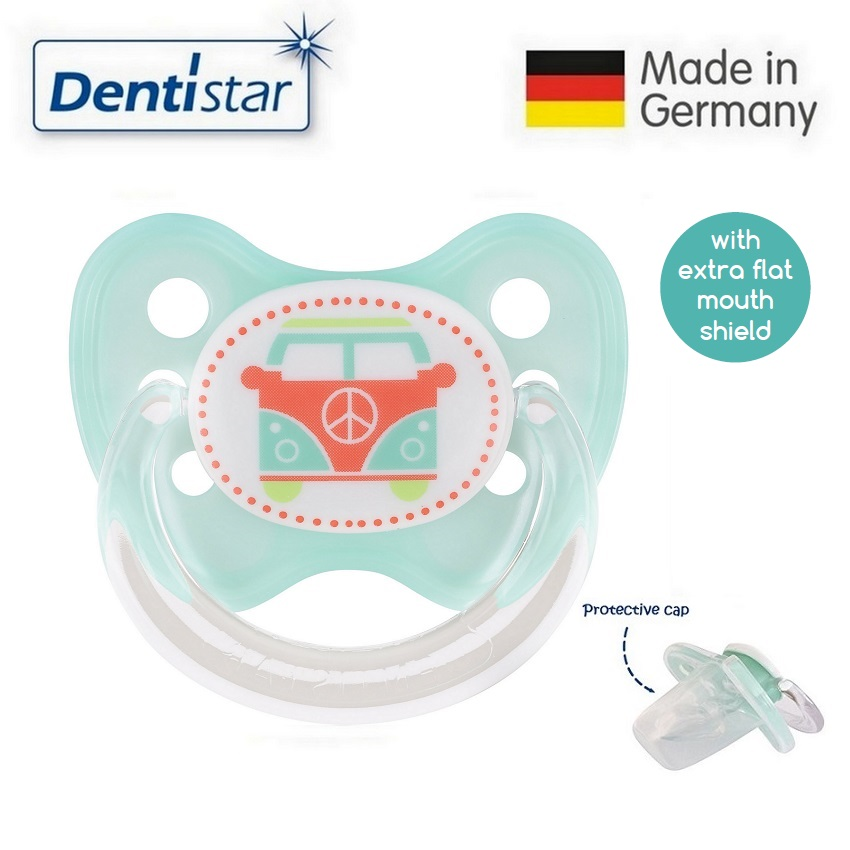 Dentistar Tooth-friendly Flat Pacifier (6-14 month