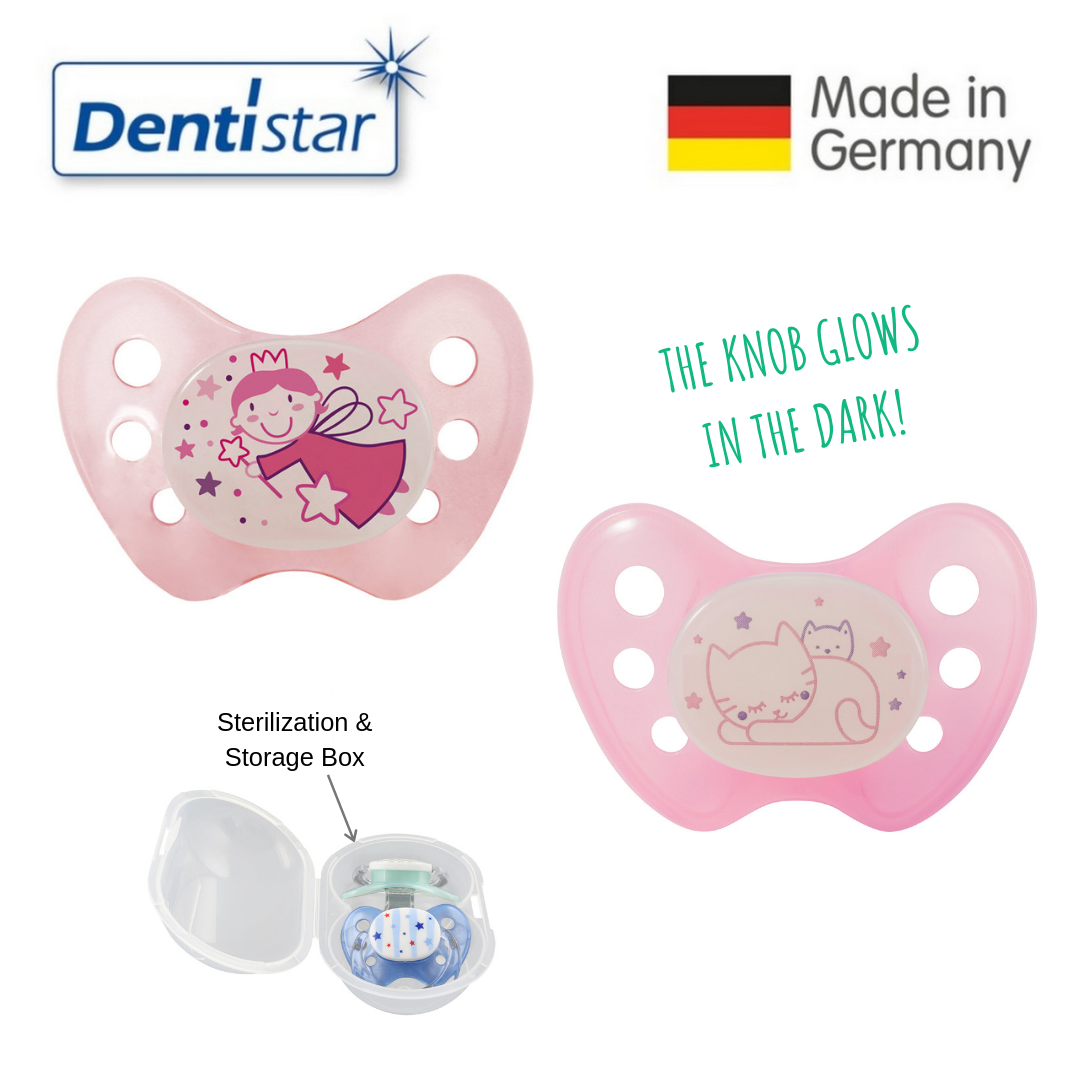 Dentistar Tooth-friendly Night Pacifier Size 2 (se