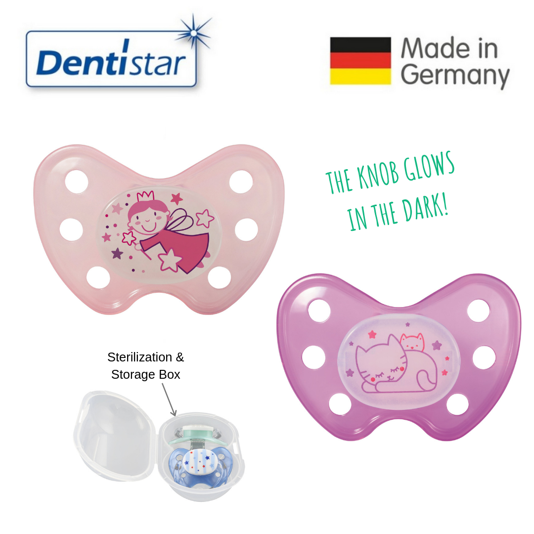 Dentistar Tooth-friendly Night Pacifier Size 3 (se