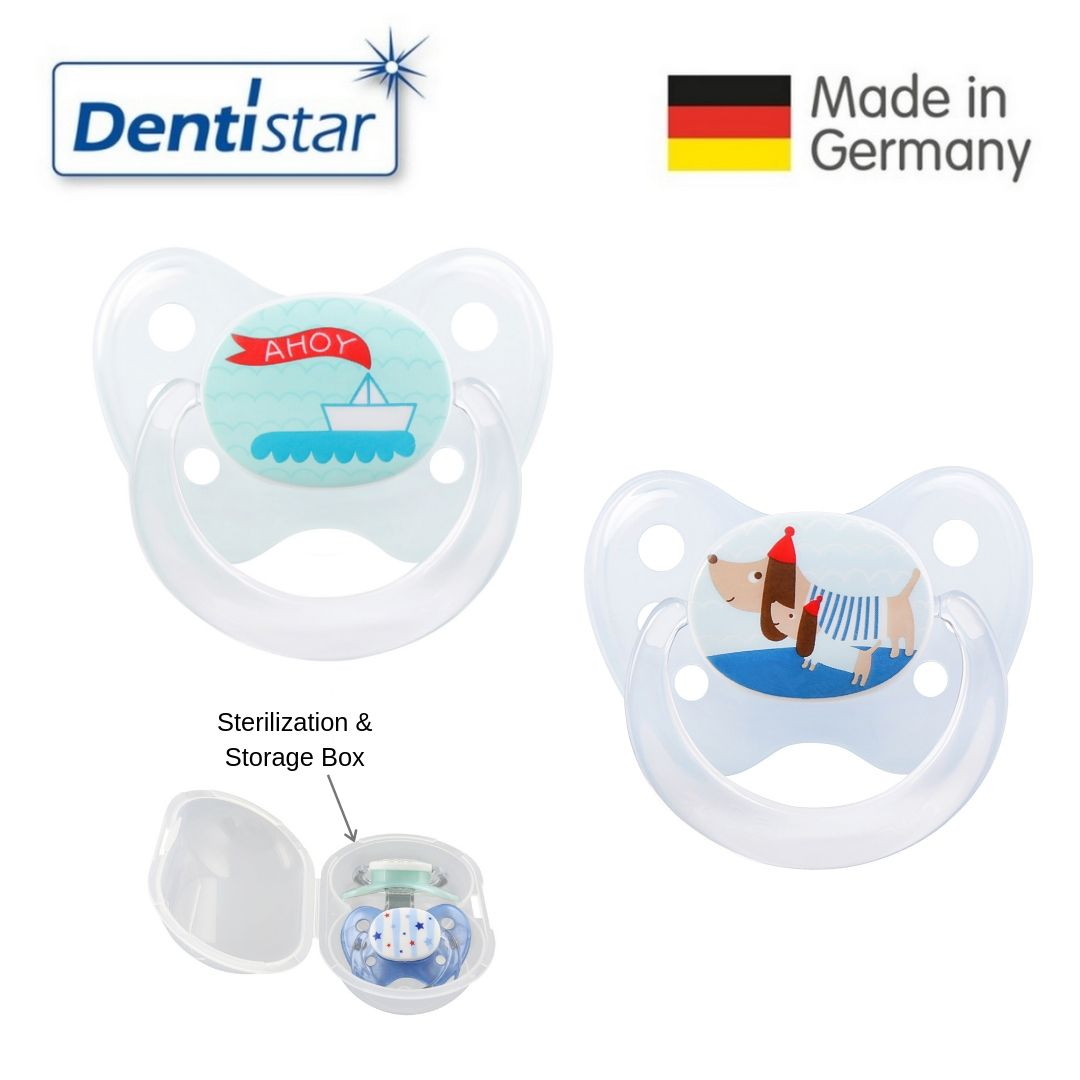 Dentistar Tooth-friendly Pacifier Size 1 (set of 2