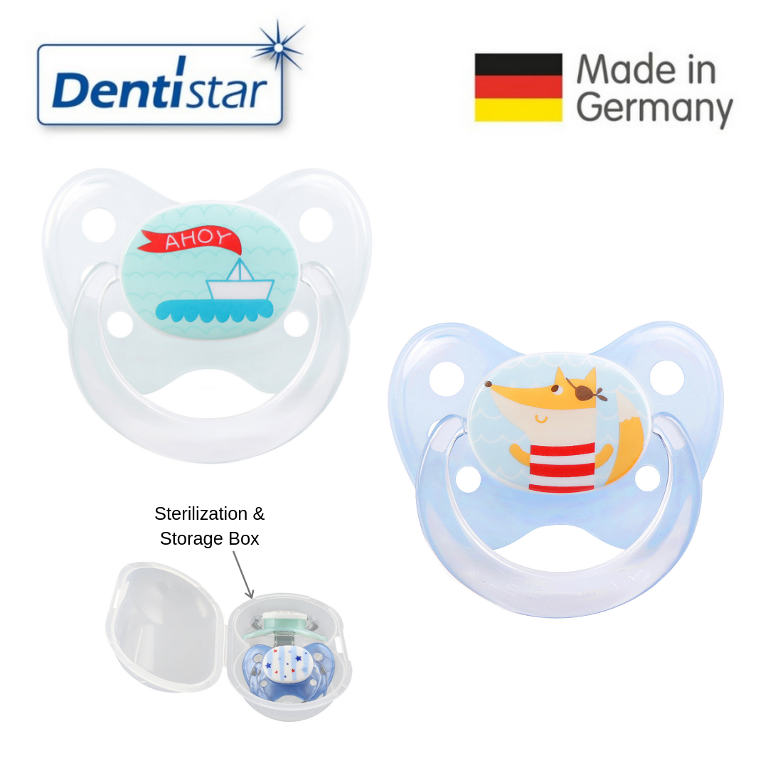 Dentistar Tooth-friendly Pacifier Size 2 (set of 2
