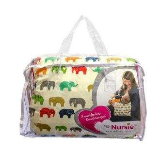 The NURSIE® - portable breastfeeding pillow & bot