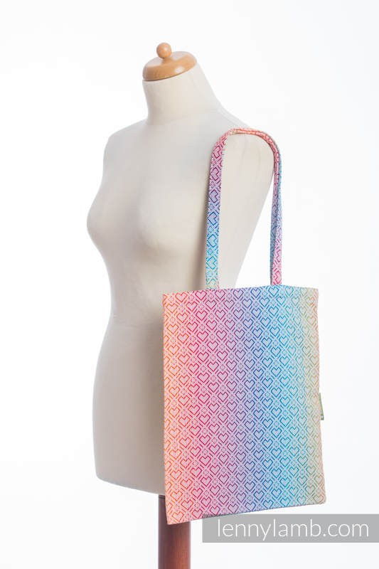 LennyLamb Shopping Bag - Big Love - Rainbow
