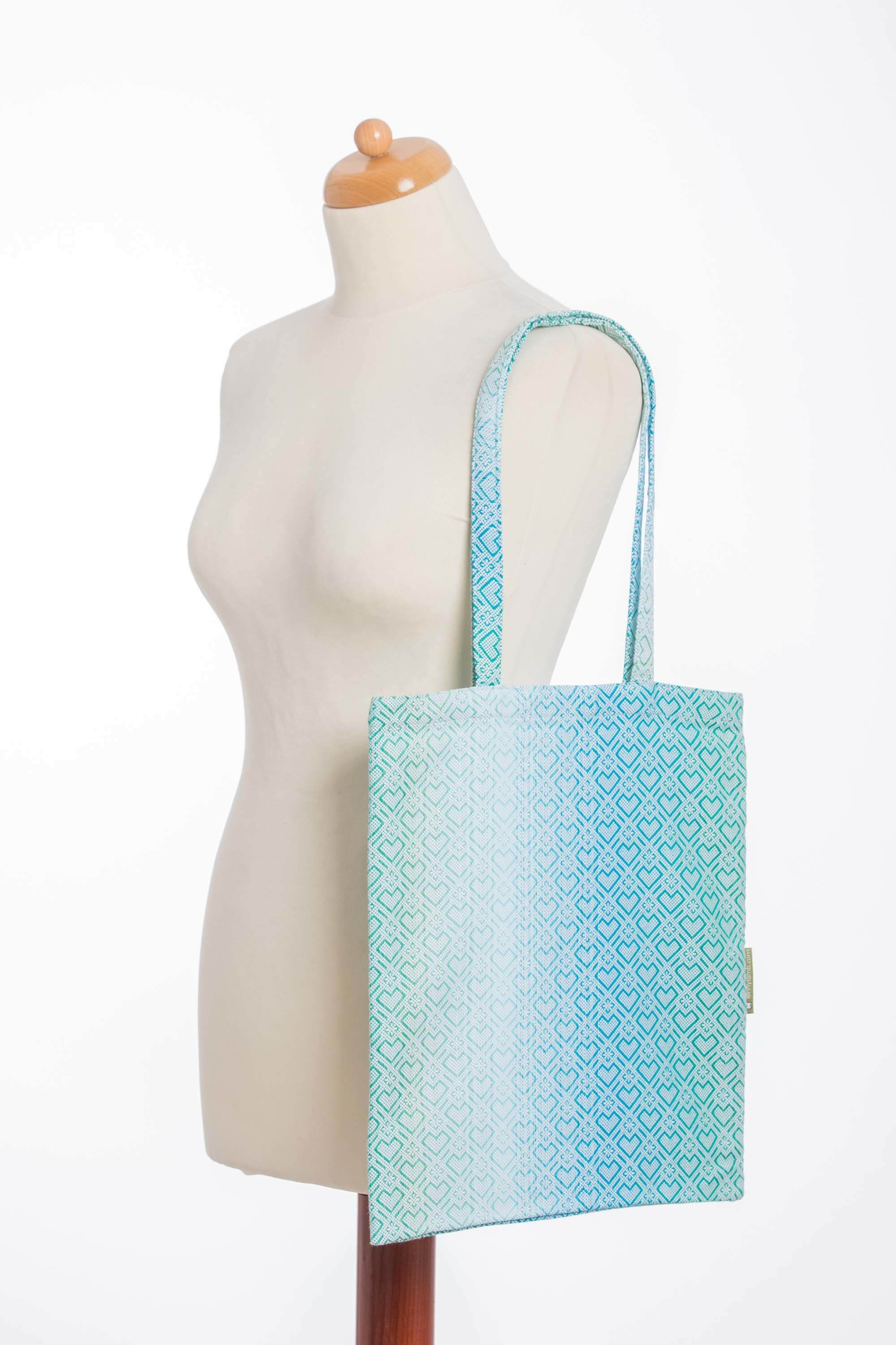 LennyLamb Shopping Bag - Big Love - Ice Mint