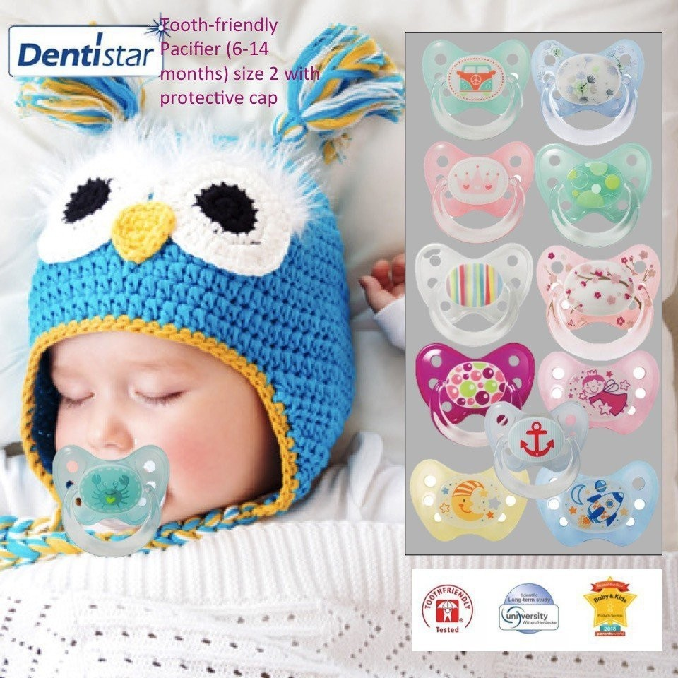 Dentistar Tooth-friendly Night Pacifier (6-14 mont