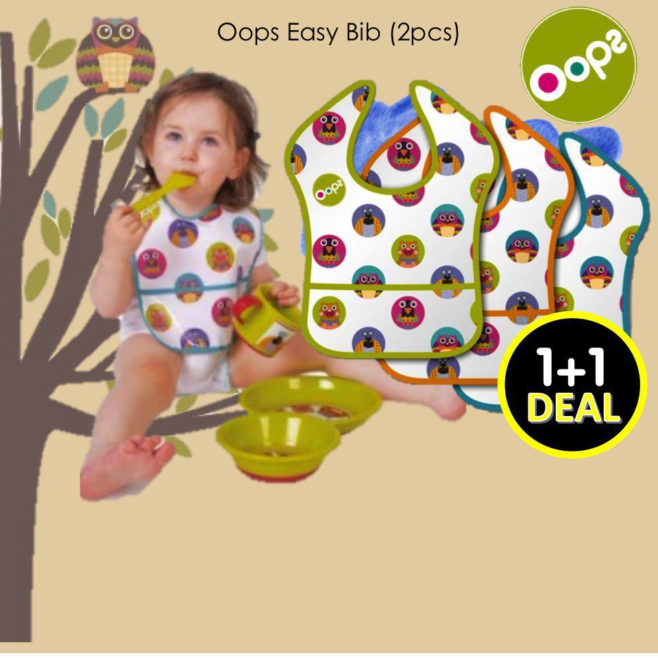 Oops Easy Bib (2pcs)