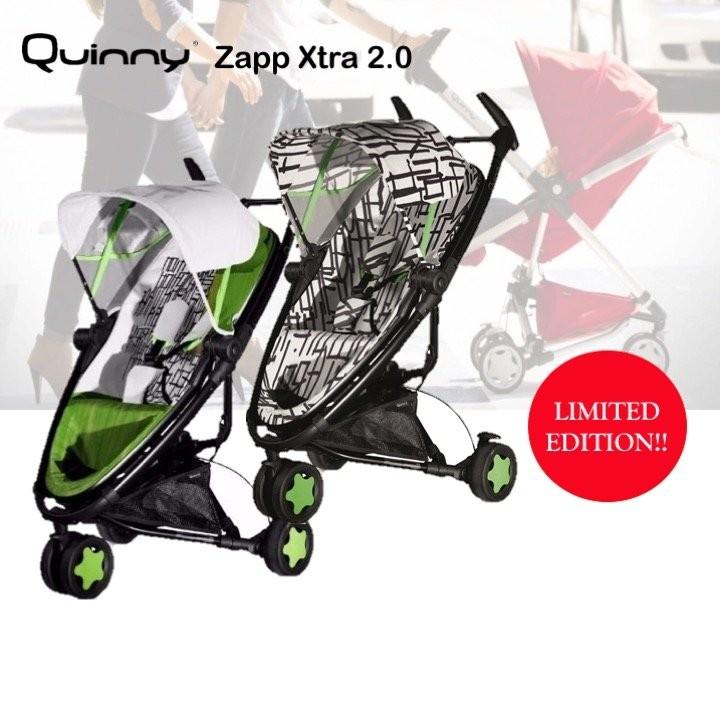 Quinny ZAPP XTRA KENSON Stroller 2013 (Fragment) +