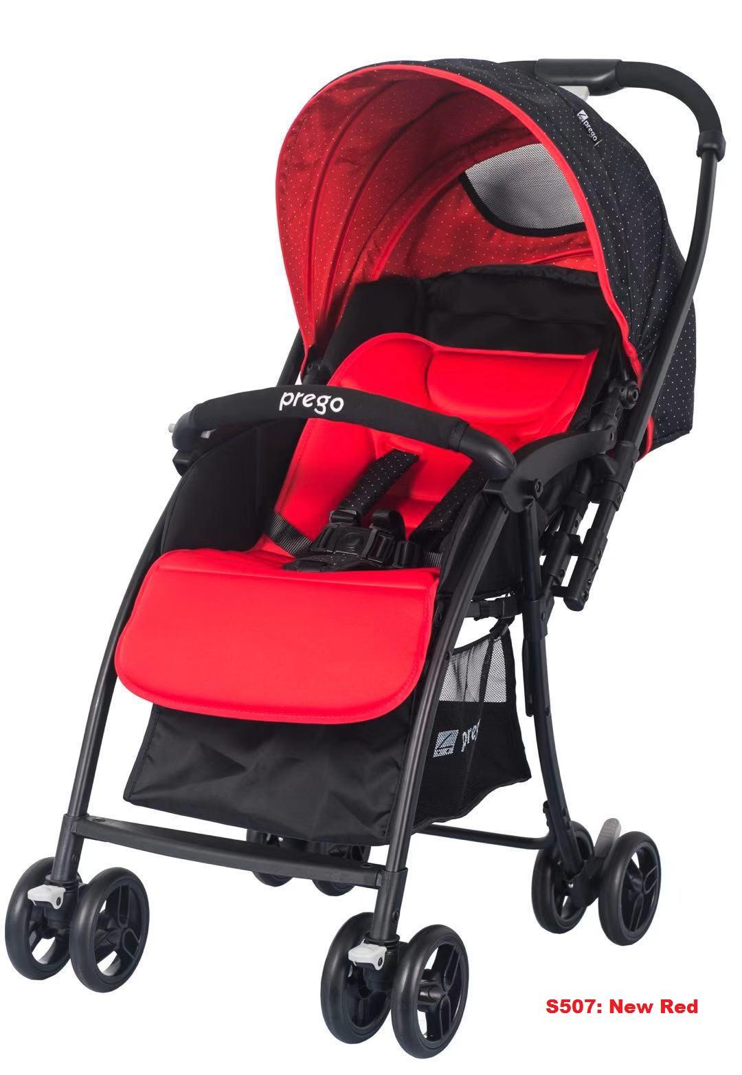 Prego S-507 ( Red 2 ) Stroller