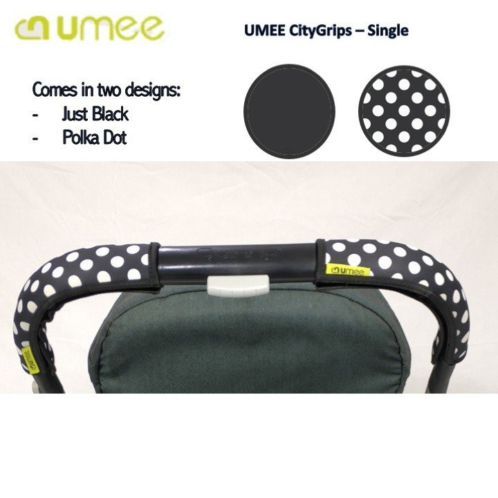 UMEE City Grips -Single Bar (Short)_POKKA DOT