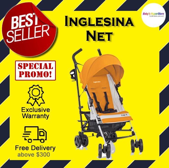Inglesina  Net (Zenzero - Yellow) Stroller  - 6 mo