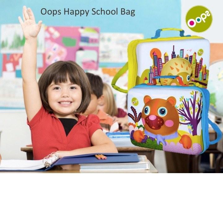 Oops Happy School Bag(2 designs available)