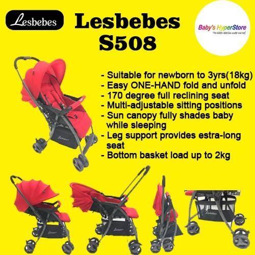 Lesbebes S508 Stroller