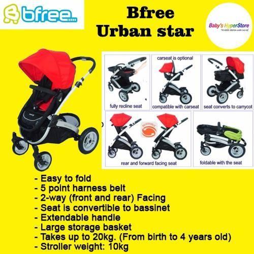 Bfree Urban Star Stroller