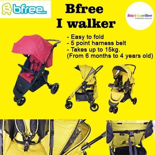 BFREE Iwalker Stroller