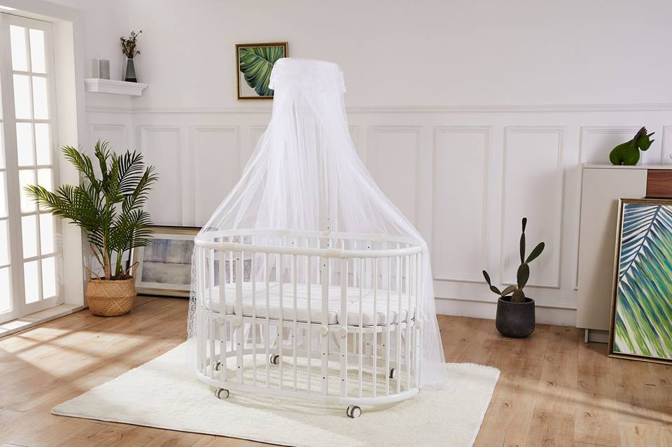 Beblum Sam Crib - natural color