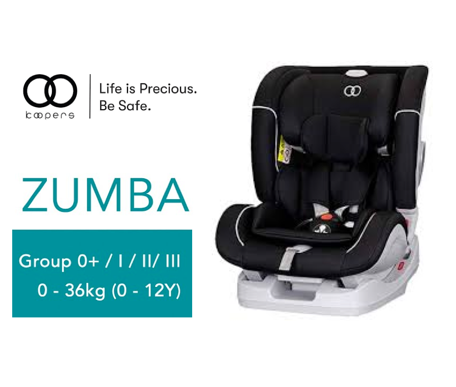 KOOPERS ZUMBA (Black) Car seat