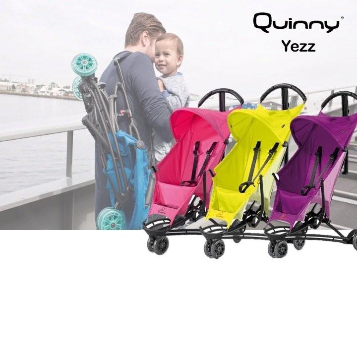 Quinny Yezz Stroller  + FREE Zapp Travel Bag worth