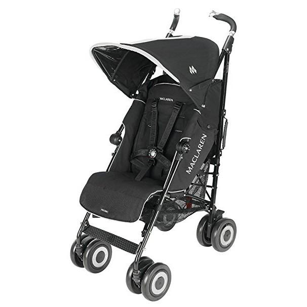 Maclaren Techno XT Stroller (Black) + FREE Comfi C