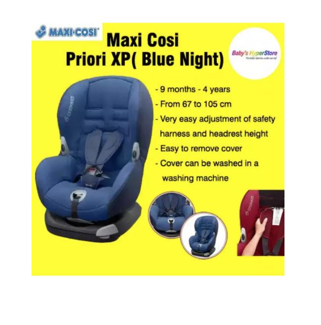 Maxi Cosi Priori XP Car Seat - Blue Night  ( EXPOR