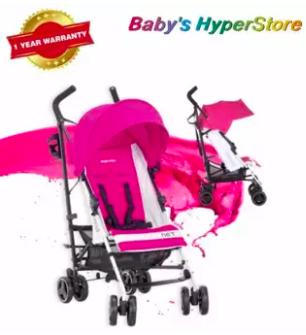 Inglesina  Net (Caramella - Pink) Stroller  - 6 mo
